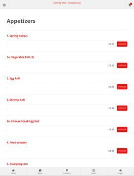 Speedy Wok Sharpsburg Online Ordering screenshot 4