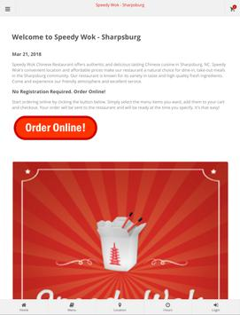 Speedy Wok Sharpsburg Online Ordering screenshot 6