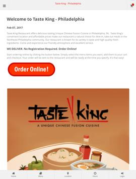 Taste King - Philadelphia apk screenshot