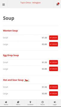 Top's China Arlington Online Ordering screenshot 2