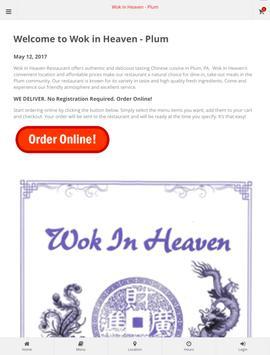 Wok in Heaven at Plum apk screenshot