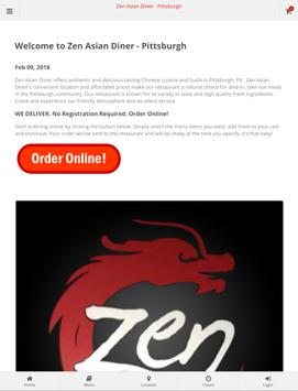 Zen Asian Diner Pittsburgh Online Ordering screenshot 6