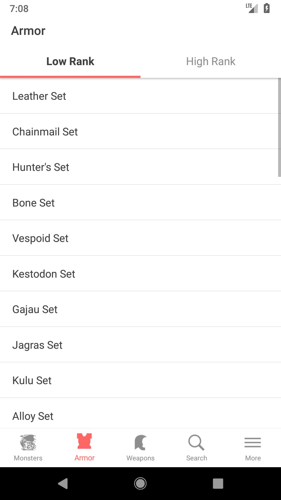 Monster Hunter World Database (MHW DB) for Android - APK