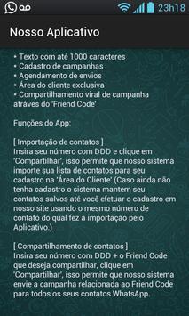 Whatszap Marketing apk screenshot
