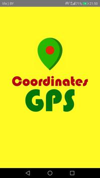 GPS Coordinates poster