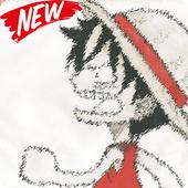 Chibi One Luffy Wallpaper HD icon