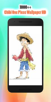 Chibi One Luffy Wallpaper HD poster