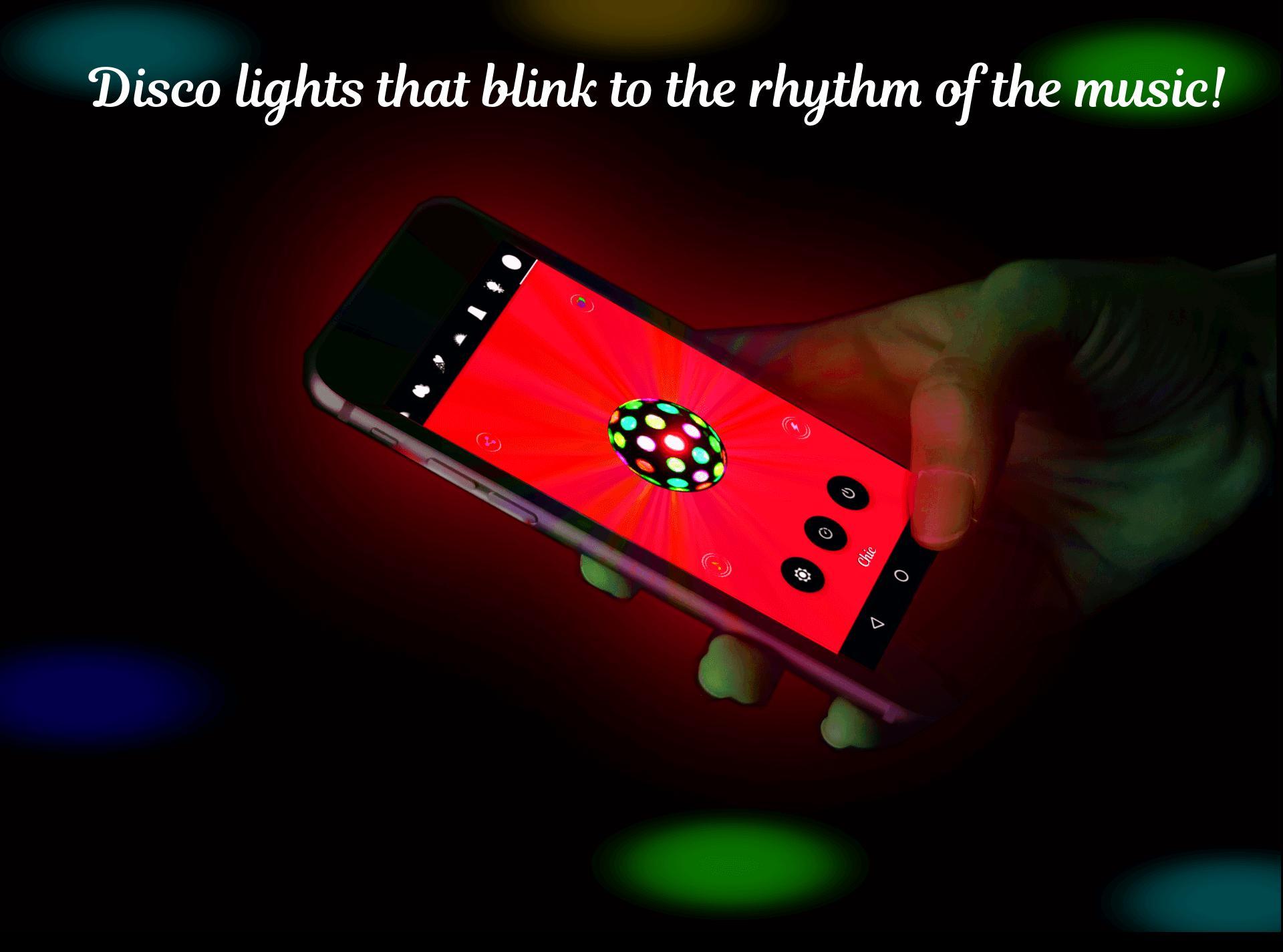 Music Light: Flashlight, Strobe & Music Visualizer for Android - APK