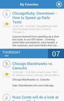 Chicago Events screenshot 2