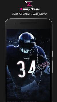 New Chicago Bears Wallpaper Art HD - Zaidan screenshot 1