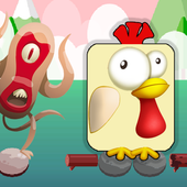 Hay Chicken Jumping Free Day icon