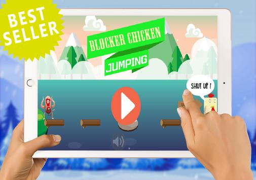 Hay Chicken Jumping Free Day screenshot 1