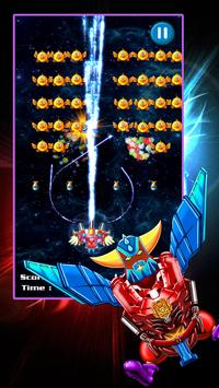 Chicken Shooter: Space Defense poster