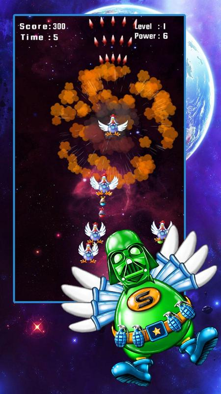 Space Attack: Chicken Shooter for Android - APK Download
