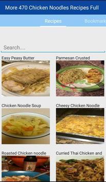 Chicken Noodle Recipes Full screenshot 1