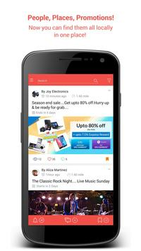 Chickku: Local People, Buy/Sell, Social, Promotion poster