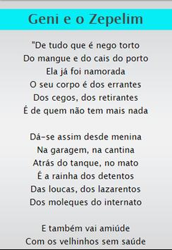 Chico Buarque Top SongLyrics screenshot 1