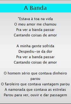 Chico Buarque Top SongLyrics screenshot 3