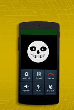 Best sans Call Prank apk screenshot