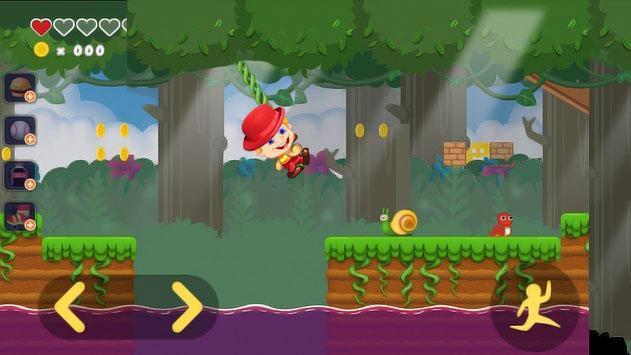 Super Adventure : Jab's Jungle World Run screenshot 3