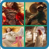 Cute Fantasy Girls icon