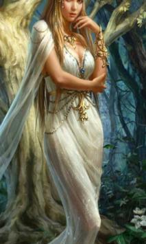 Cute Fantasy Girls poster