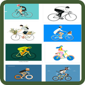 Cycling Animation icon