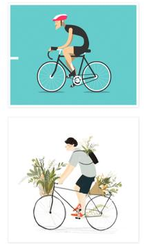 Cycling Animation apk screenshot