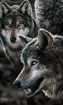 Animated Wolf GIF apk screenshot