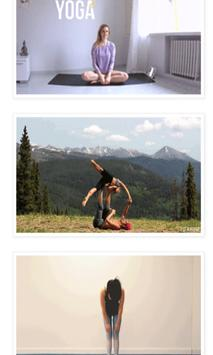 Animated Yoga GIF apk screenshot