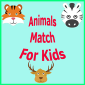 Animals Match For Kids icon