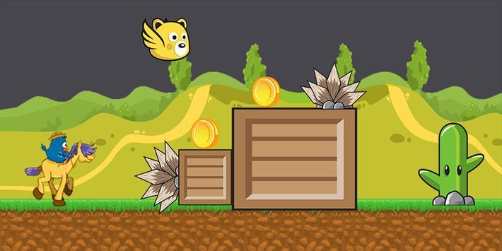 Herói galinha corredor apk screenshot