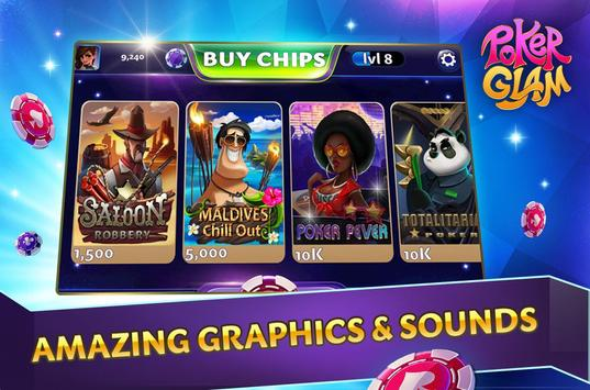 Poker Glam screenshot 4
