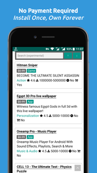Paid Apps Gone Free - PAGF (Beta) screenshot 1