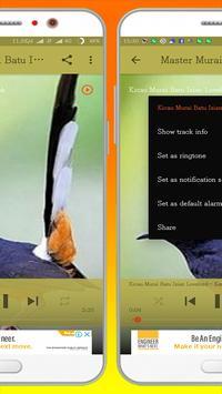 Kicau Burung Murai Batu screenshot 3