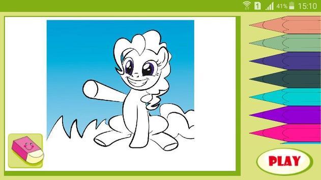 Раскраска мультик Мой Пони screenshot 4