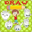 How to draw Cute Food APK