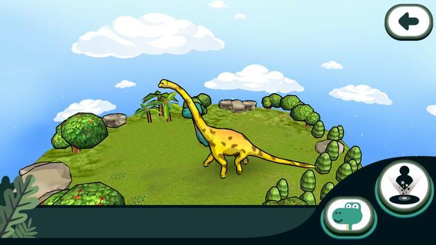 경기북부어린이박물관 색칠놀이로 만나는 공룡존 apk screenshot