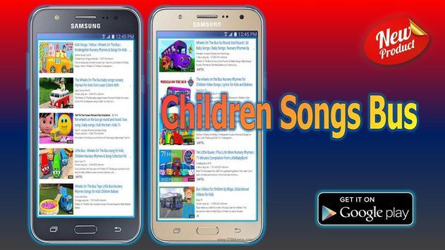 Children Songs Bus poster