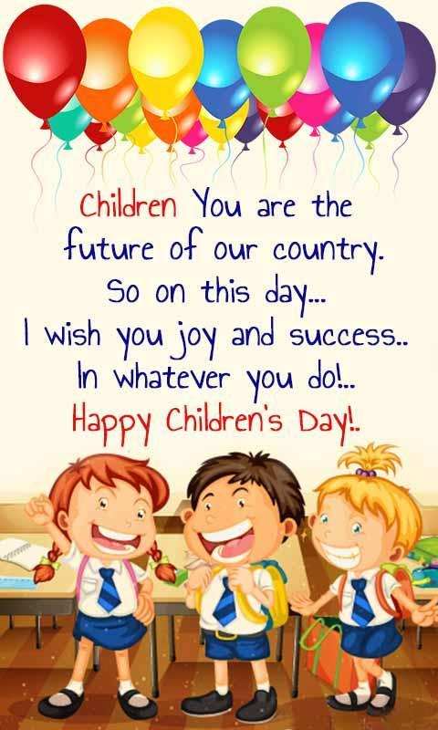Children 39 s day cards messages for android apk download - Children s day images download ...