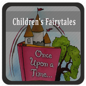 children fairy tales icon