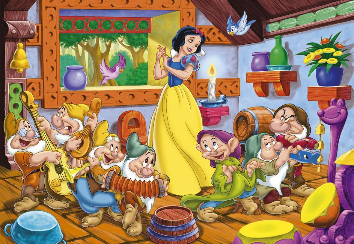 snow white and the seven dwarfs - HD1024×768