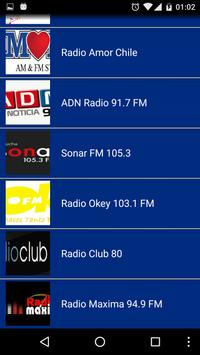 Radio Chile Online screenshot 2