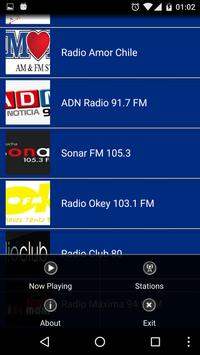 Radio Chile Online screenshot 3