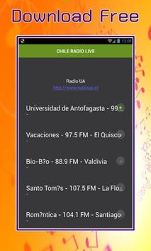 CHILE RADIO LIVE poster