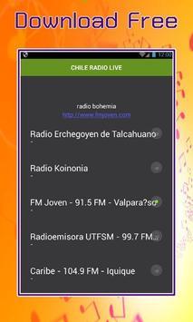 CHILE RADIO LIVE screenshot 1