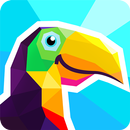 Poly Artbook - puzzle game APK