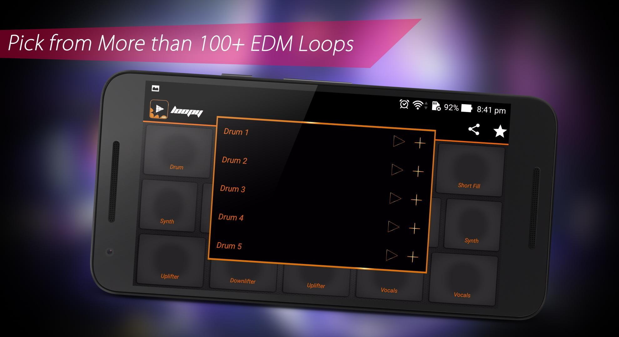 Loopy - EDM Launchpad Dj Mixer Best Music App Ever for Android - APK
