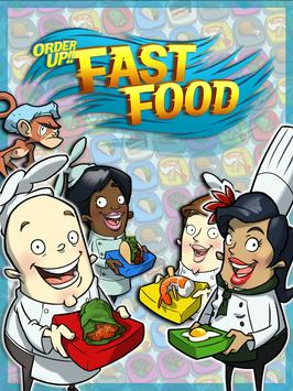 Order Up!! Fast Food poster