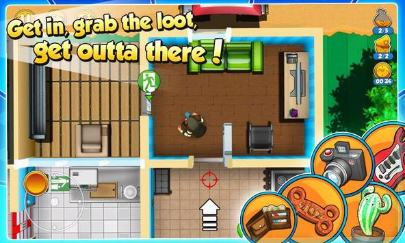 Robbery Bob 2: Double Trouble apk screenshot
